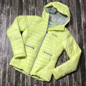 Puffy winter Columbia coat